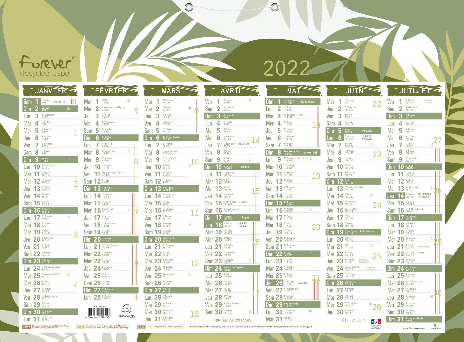 Calendrier Publicitaire 2022 Fabrication de calendriers publicitaires personnalisés, à Paris